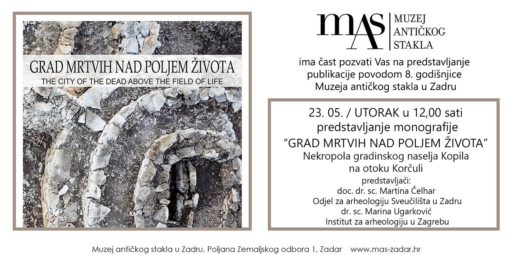 Presentation of the publication - City of the Dead over the field of life