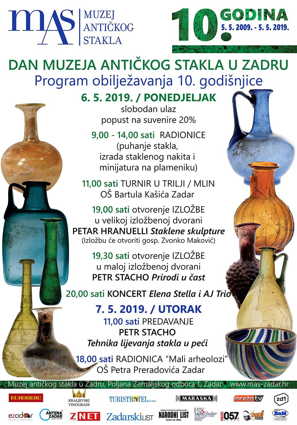 Dan Muzeja Antičkog stakla u Zadru