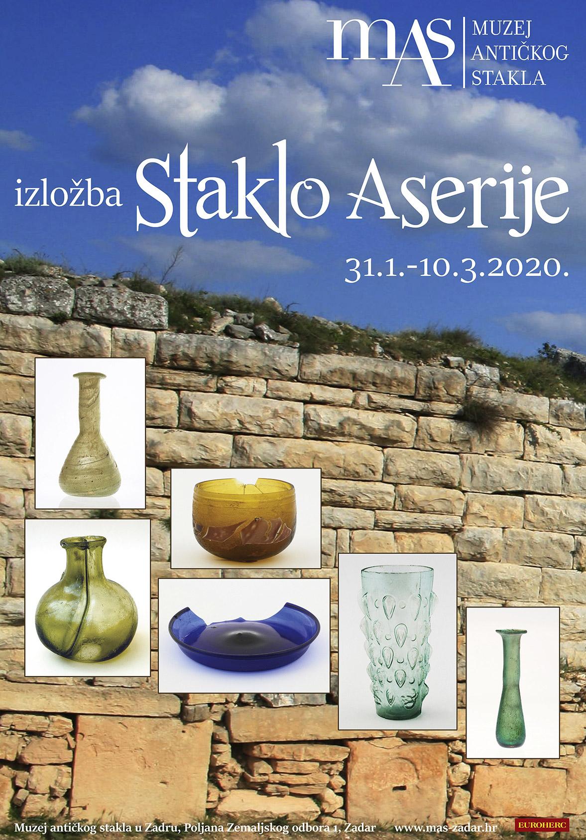 Izložba Staklo Aserije