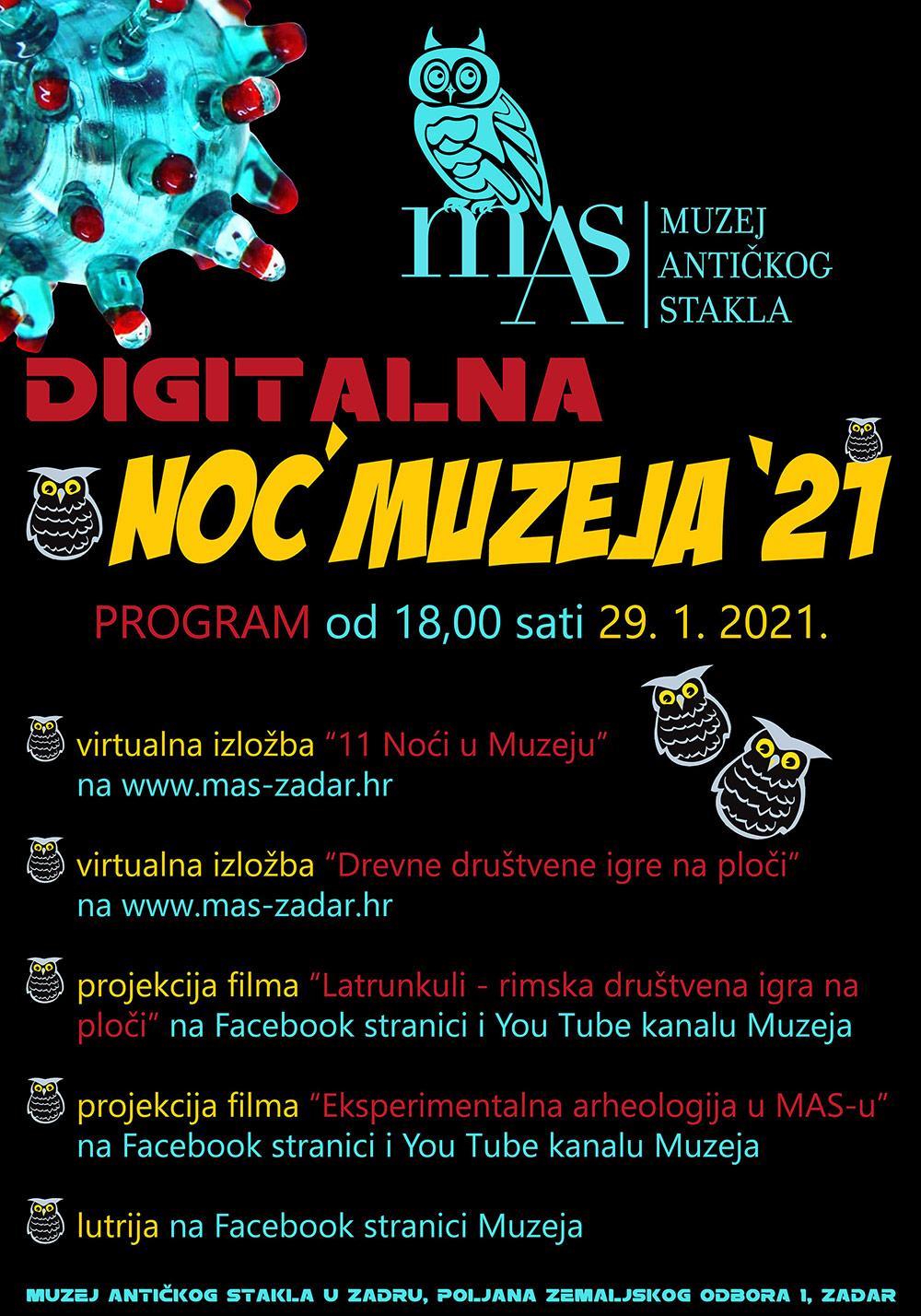Digitalna Noć muzeja '21
