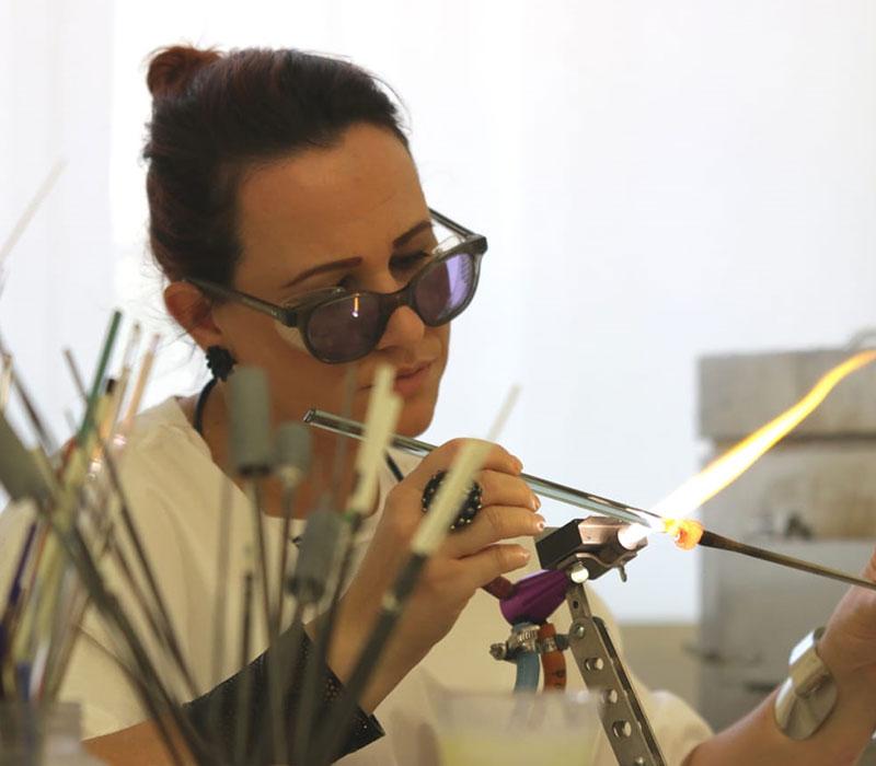 Glass workshops